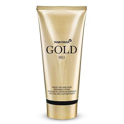 "Tannymaxx ""Gold 999,9"" Finest Anti Age Dark Bronzing Lotion 200 ml Solarkosmetik"