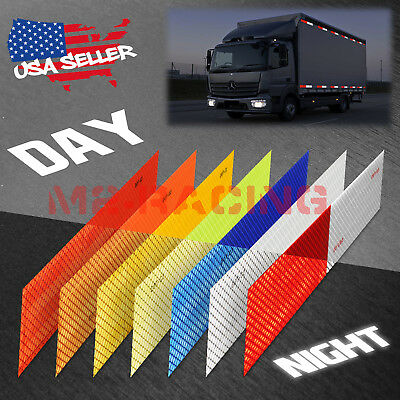 Dot-c2 Conspicuity Reflective Tape Strip 1 Foot Safety Warning Trailer Rv