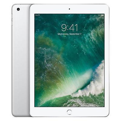 New Apple iPad 5th Gen. 128GB, Wi-Fi + Cellular GSM Unlocked 9.7in Grey Inbox