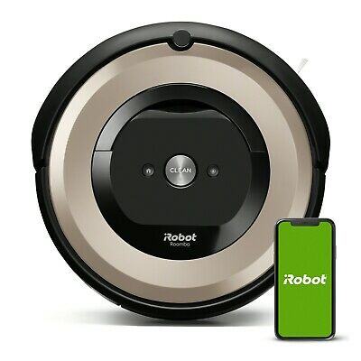 iRobot Roomba E6 Vacuum Cleaning Robot E6198 Manufacturer Certified Refurbished