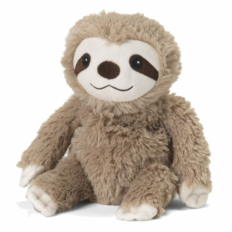 Warmies Microwavable French Lavender Scented Plush Jr. Sloth
