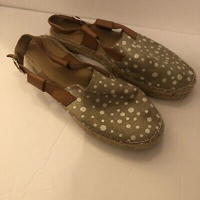Anthropologie Sandal Shoes Size 38 EUC