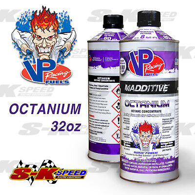 VP Racing Fuel Octanium Gasoline Octane Booster 32oz Can Treats up to 10 (Fuel Racing)