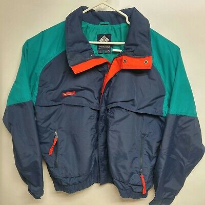 Navy Powder (VTG Columbia Ski Jacket 50th Limited Edition Powder Navy Teal Red XL Retro )