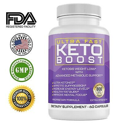 Ultra Fast Keto Boost Energy, Advanced Weight Loss Diet Pills, Burn belly Fat