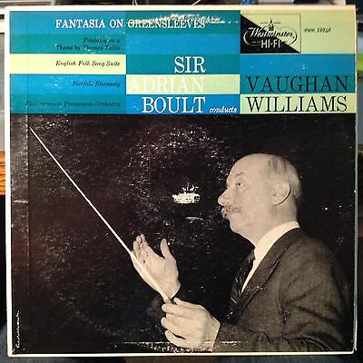- Boult - Williams Fantasia On Greensleeves LP VG+ XWN 18248 Westminster 1955