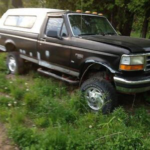 1994 f350 7.3 turbo diesel project truck need gone lets trade