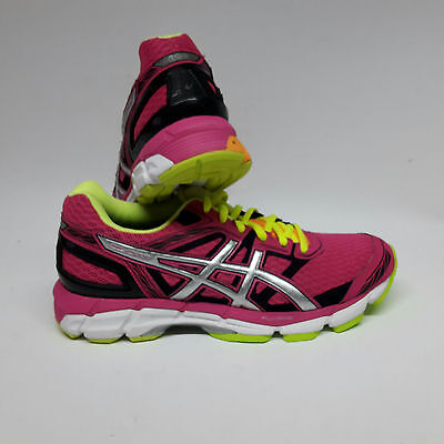 Asics Gel-Divide Women Laufschuhe hot pink/silver/flash yellow UK 6,5 EU 40 ()