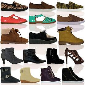 Womens Autumn/Winter Footwear 20 Styles