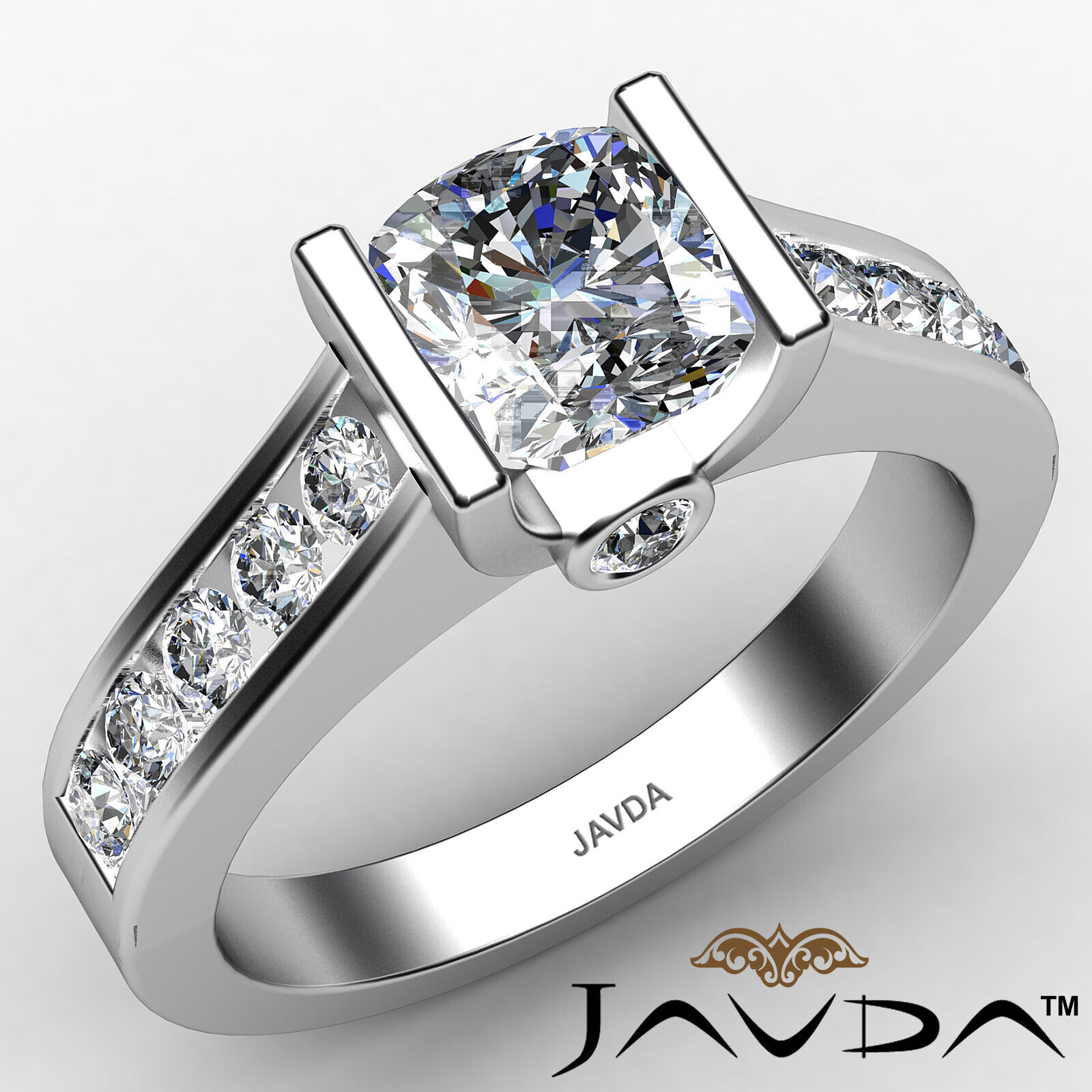 Cushion Diamond Engagement Ring GIA Certified K Color & VS2 clarity 1.4 ctw
