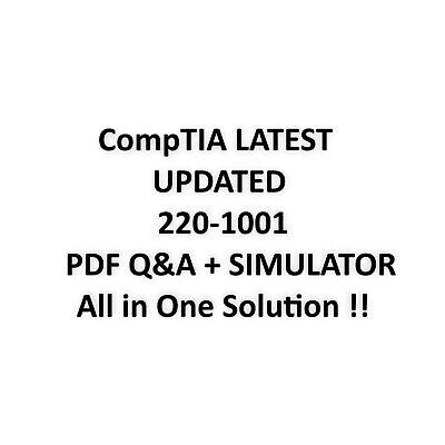 CompTIA A+ Certification Exam: Core 1 Exam 220-1001 Test QA&SIM  d'occasion  Expédié en Belgium