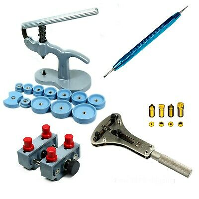 Watch Repair tool Kit  Case Press - XL Case Opener - Case Holder Spring Bar Tool