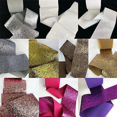 Chunky Glitter Border Fabric Wallpaper 16cm BEST PRICE
