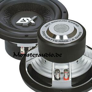 ESX Signum SX-840 20cm Woofer 300 Watt RMS 600 Watt MAX Subwoofer 8