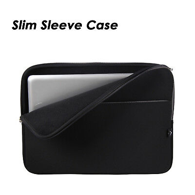 """15"""" Soft Laptop Sleeve Case Bag Cover Pouch for 15.4"""" 15.6"""" HP Dell Acer Macbook"""