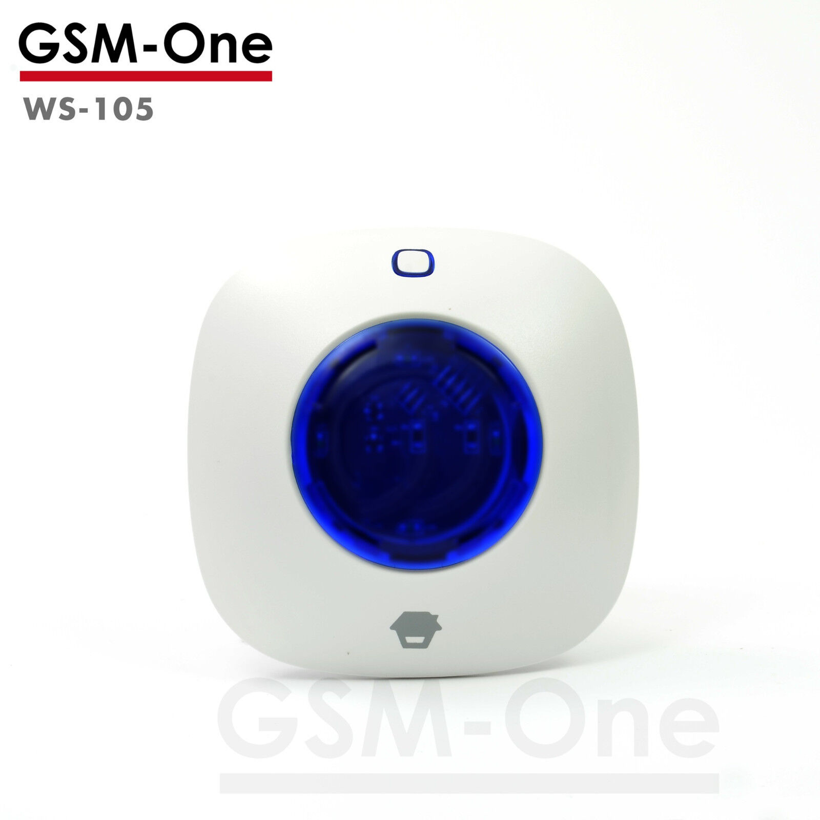 Funk-Sirene WS-105 kompatibel mit allen Chuango Alarmsystemen! Von GSM-One