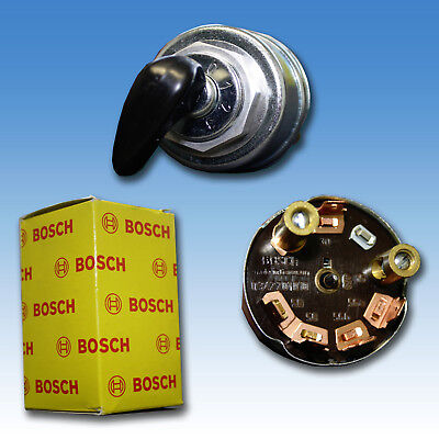 BOSCH Zündschloss 0123 kpl. mit Zündschlüssel Holder Schlepper Traktor Bulldog (Bosch Bulldog)