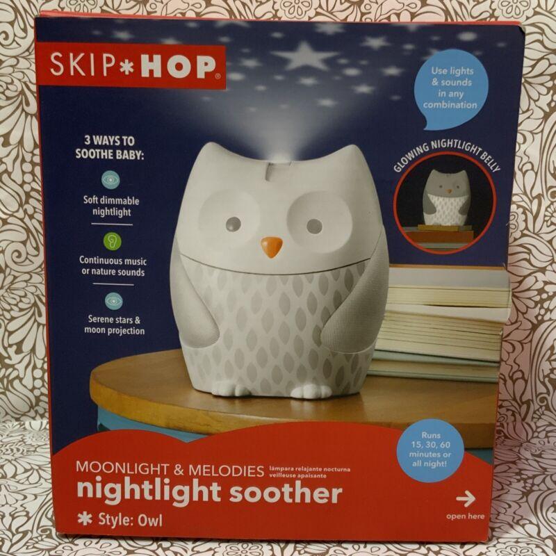 📀 Skip Hop Moonlight & Melodies - Nightlight Soother - Owl (Openbox)
