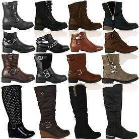 Womens Autumn Winter Boots