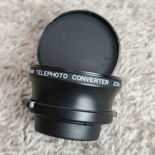 TIFFEN TELEPHOTO CONVERTER 2.0X 37MM CAMERA LENS COMES WITH BOTH CAPS CLEAN