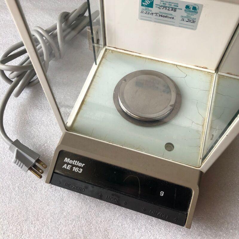Mettler Toledo AE163 Electronic Lab Balance Scale 0.001-160g