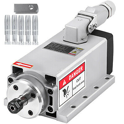 Cnc 1.5kw Air Cooled Spindle Motor Er11 24000rpm Air Cooled Mill Grind Engraving