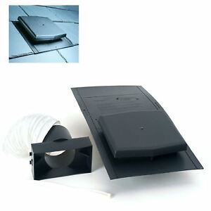 10K Slate Roof Tile Vent Ventilator U0026 Adapter Kit / Extractor Fans U0026 Soil  Pipe
