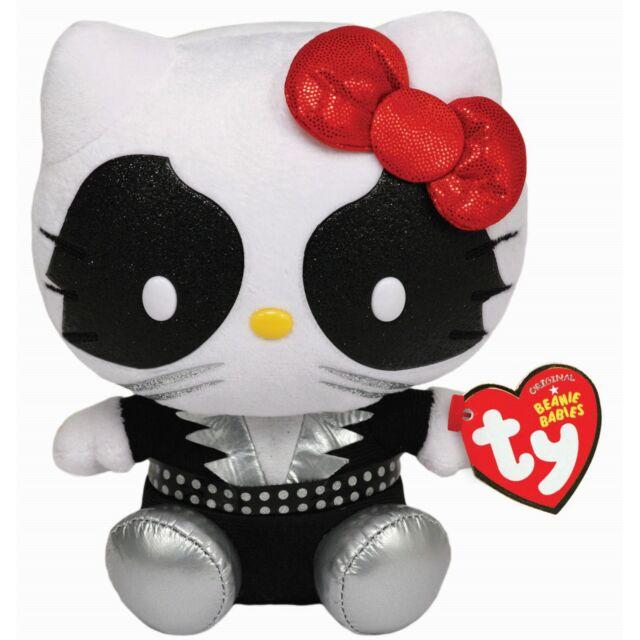 Ty Beanie Babies 42061 Hello Kitty Kiss Rock Band Cat Man