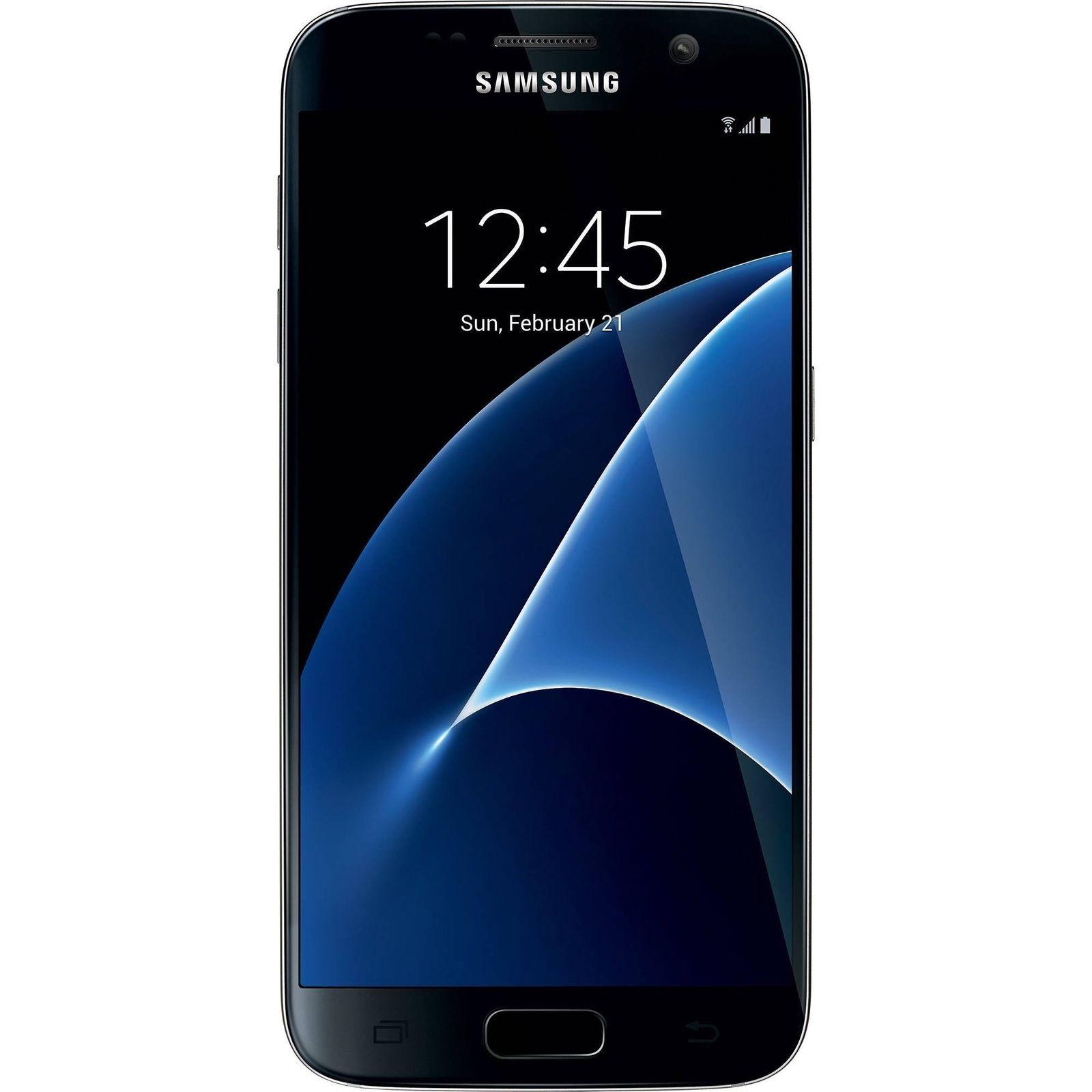 Samsung Galaxy S7 32GB Straight Talk LTE Prepaid Smartphone - Black Onyx