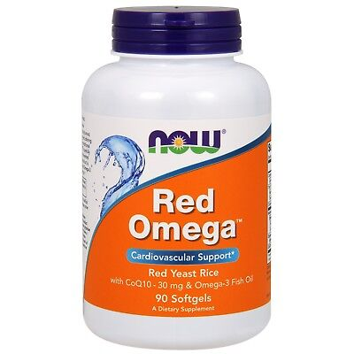 NOW Foods Red Omega, 1000 mg, 90 Softgels