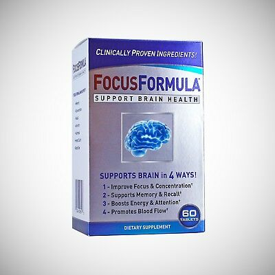 Focus Formula by Windmill Vitamins - 60 Tablets