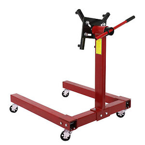 1250lbs 570KG Car Engine Gearbox Transmission Jack Stands Swivel Mount Support