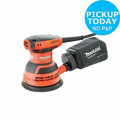 Makita Random Orbital Sander - 240W. From the Official Argos Shop on ebay