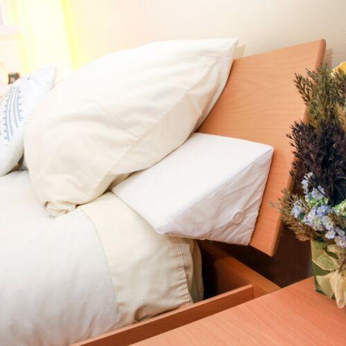 Mattress Wedge Snug Stop Pillow Wedge headboard Gap filler with Pillow case