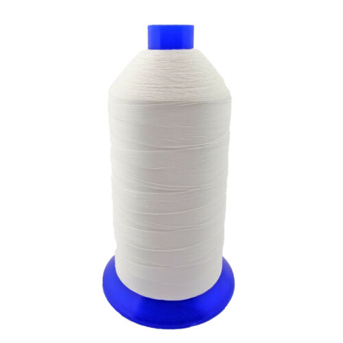 White Bonded Nylon Upholstery Thread Size 92, Tex 90, 16 Oz. 4200 Yards