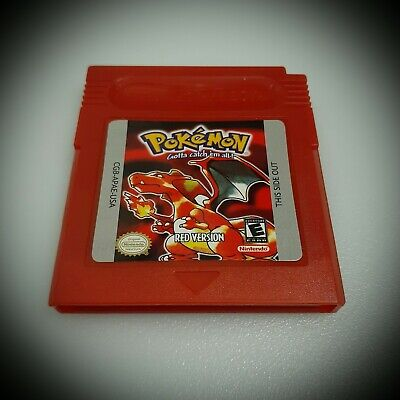 Pokemon Red Version GameBoy Color GBC (FREE SHIPPING)