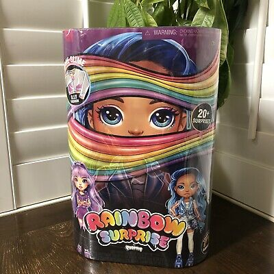 "Rainbow Surprise By Poopsie 14"" Doll Amethyst Rae Or Blues Skye New And Sealed"