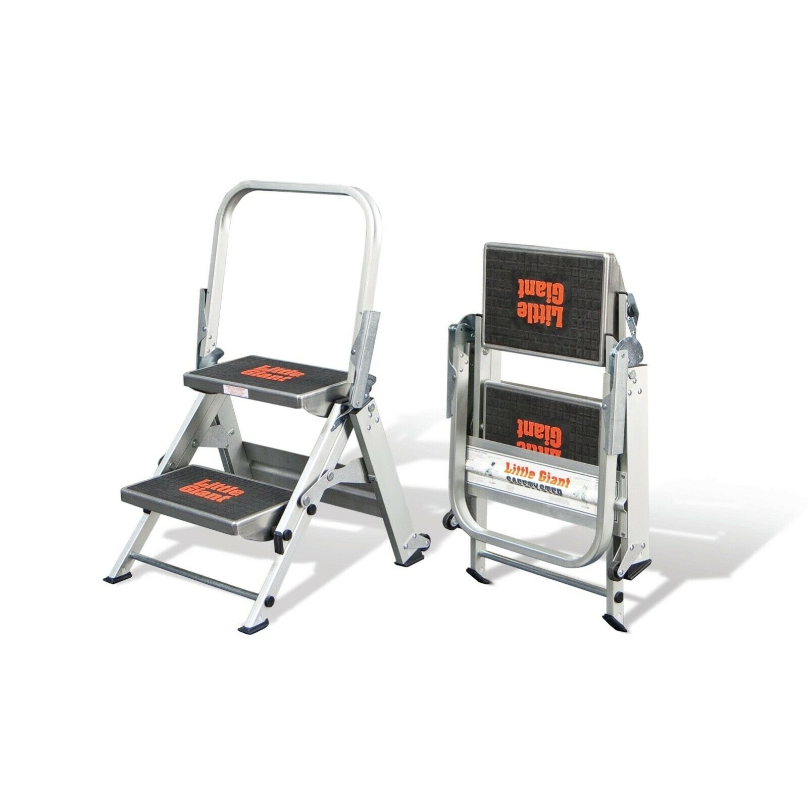 Little Giant 2-Step 300 lbs. Capacity Aluminum Foldable Step