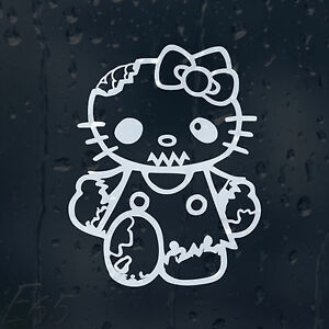 Hello-Kitty-Zombie-Outbreak-Response-Team-Car-Decal-Vinyl-Sticker