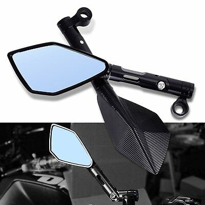 2PCS 8MM 10MM ALUMINUM CNC MOTORCYCLE REARVIEW SIDE MIRROR FOR RIZOMA