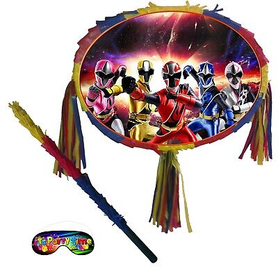 Oval Pinata Ninja Smash Steel Power mega party force theme Rangers favours UK