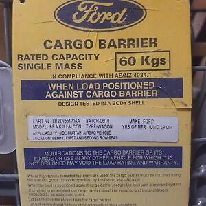 60kg vehicle cargo barriers Concord Canada Bay Area Preview