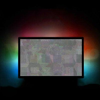 RGB LED USB TV TELEVISIONE sfondo illuminazione multicolore colori S-UHD 4K