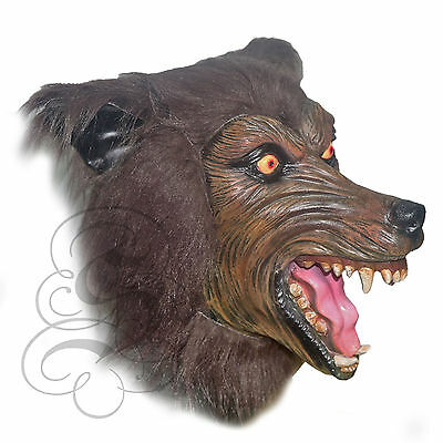 Halloween Latex Realistic Werewolf High Quality Fancy Dress Costume Party Mask