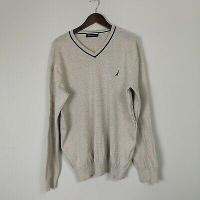 Nautica V Neck Sweater Jumper