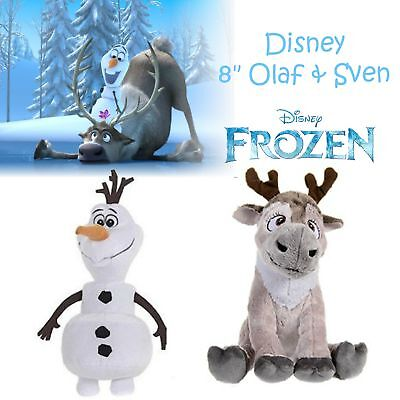 """Frozen Disney Baby Soft Toy│Plush Material│Popular Characters│8"""" Olaf OR Sven"""