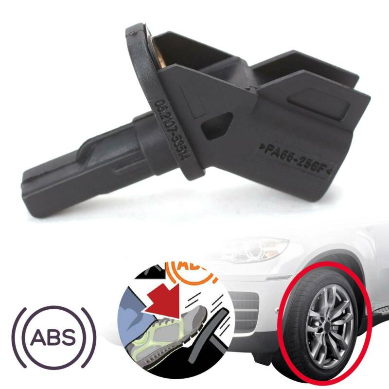 Black BP4K43701A Car ABS Wheel Speed Sensor Replacement For Ford Focus