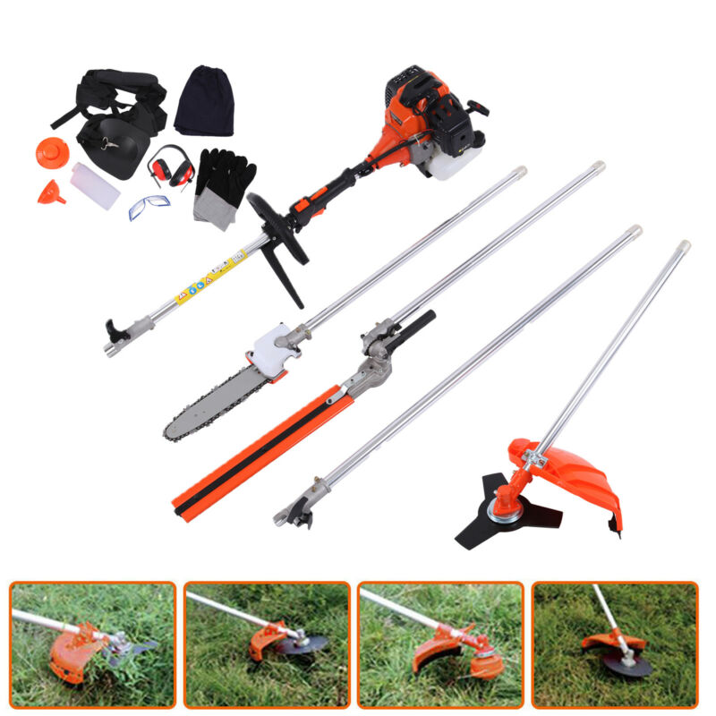 1 52cc petrol hedge trimmer