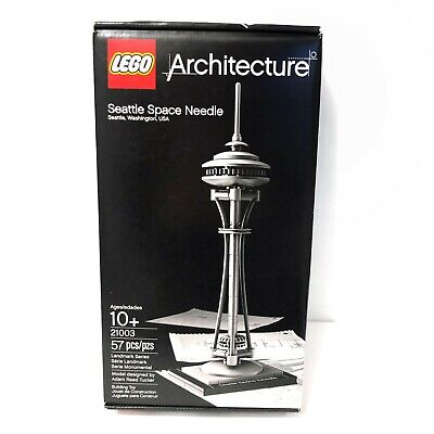 New LEGO Architecture Seattle Space Needle 21003 Retired Landmark Series