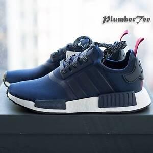 W US8.5 Brand New Adidas Original NMD R1 W Navy Blue | Red Melbourne CBD Melbourne City Preview